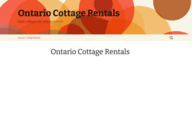 ontariocottagesforrent.ca