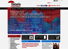 ontariohealthcoalition.ca