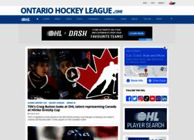 ontariohockeyleague.com
