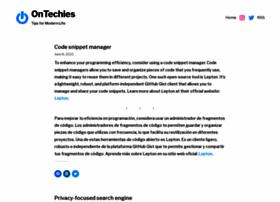 ontechies.com