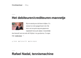 onuitstaanbaar.nl