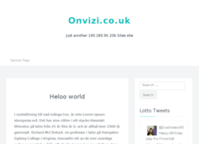 onvizi.co.uk