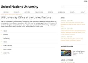 Ony.unu.edu