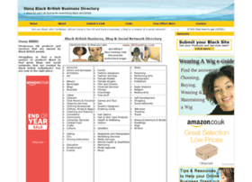 oonablackbritishbusinessdirectory.com