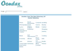oondex.com