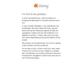 oony.com