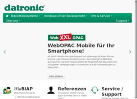 opac.datronic.de