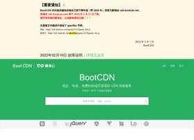 open.bootcss.com