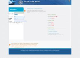 openaccess.aast.edu