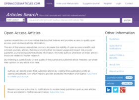 openaccessarticles.com