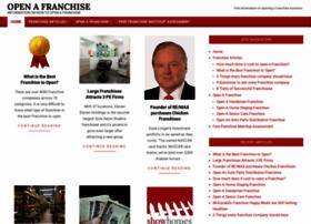 openafranchise.com