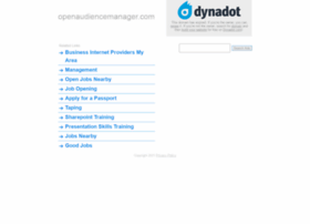 openaudiencemanager.com