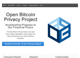 openbitcoinprivacyproject.org