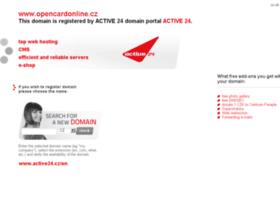 opencardonline.cz