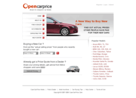 opencarprice.com