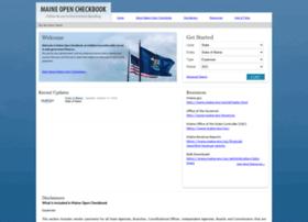 opencheckbook.maine.gov