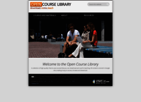 opencourselibrary.org