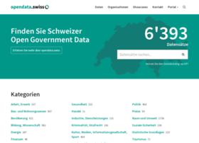 opendata.admin.ch