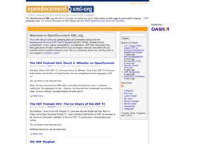 opendocument.xml.org