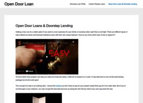opendoorloan.co.uk
