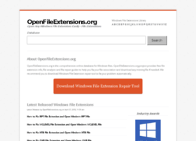 openfileextensions.org