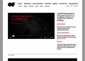 openframeworks.cc