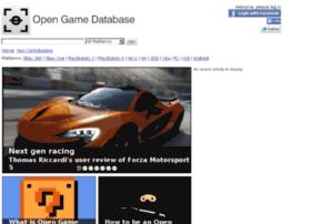 opengamedatabase.com