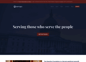opengovfoundation.org