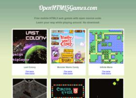 openhtml5games.com