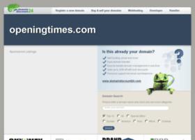 openingtimes.com