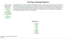 openmadrigal.org
