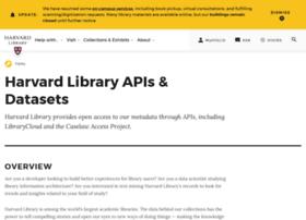 openmetadata.lib.harvard.edu