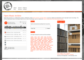 openmusicarchive.org