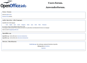 openoffice.info
