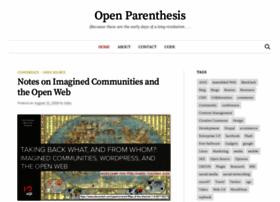 openparenthesis.com