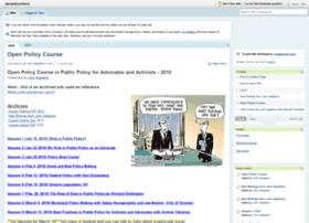 openpolicyontario.pbworks.com
