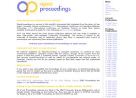openproceedings.org