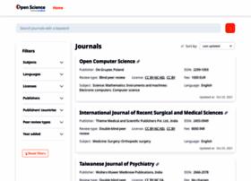 opensciencedirectory.net