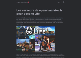 opensimulator.fr