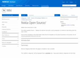 opensource.nokia.com