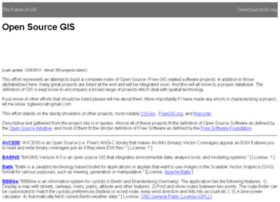 opensourcegis.org