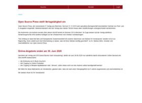 opensourcepress.de