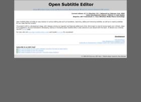 opensubtitleed.sourceforge.net