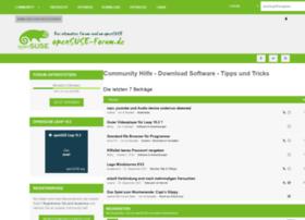 opensuse-forum.de
