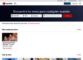 opentable.com.mx