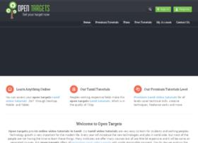 opentargets.com