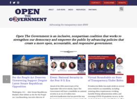 openthegovernment.org