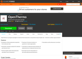 openthermo.sourceforge.net