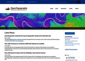 opentopography.org