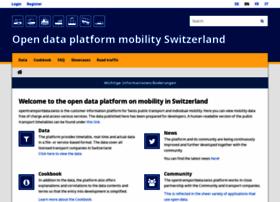 opentransportdata.swiss